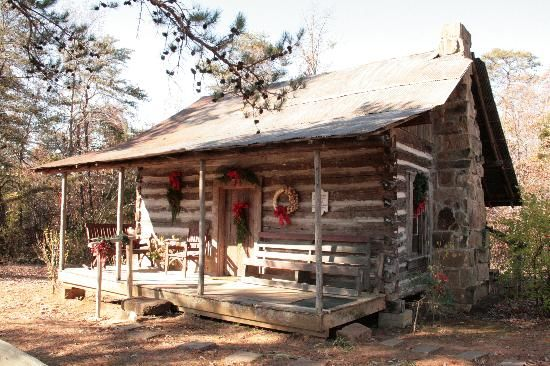 24 best christmas in alabama images on pinterest alabama for Log cabin builders in alabama
