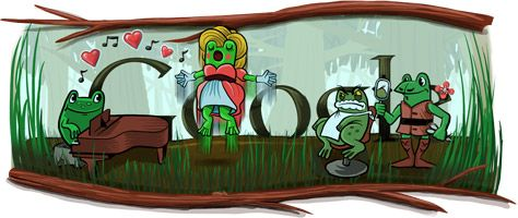 Gioachino Rossini gets a Google Doodle for his 220th birthday. Or is it his 53rd? Leap year 2012