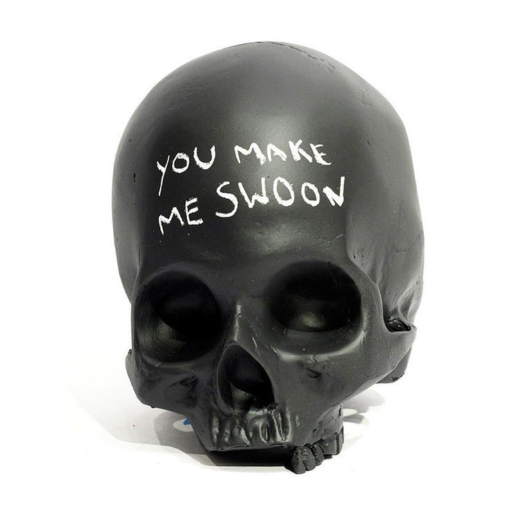 Homo Sapien Chalkboard Skull – The Colossal Shop Something on your mind? Put it on somebody else's head! Or, at the very least, on one of these Homo Sapien chalkboard skulls by Chicago-based artists Sarah and Joseph Belknap.