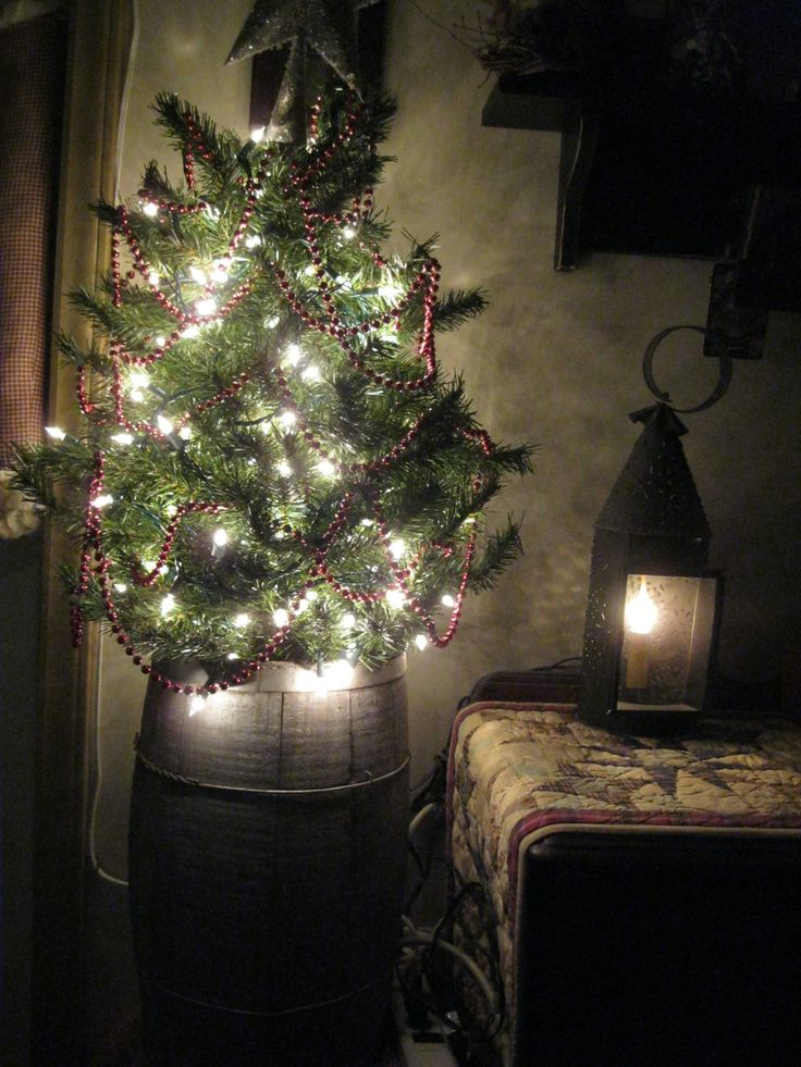 Artificial Country Christmas Trees