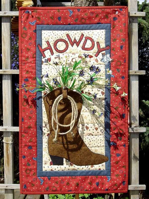 117 Best Western And Cowboy Quilts Images On Pinterest Cowboy