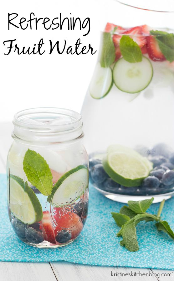 Best 25 fruit water ideas on pinterest flavored water for Easy fruit tea recipe