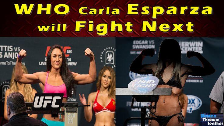 WHO Carla ESPARZA will FIGHT NEXT!