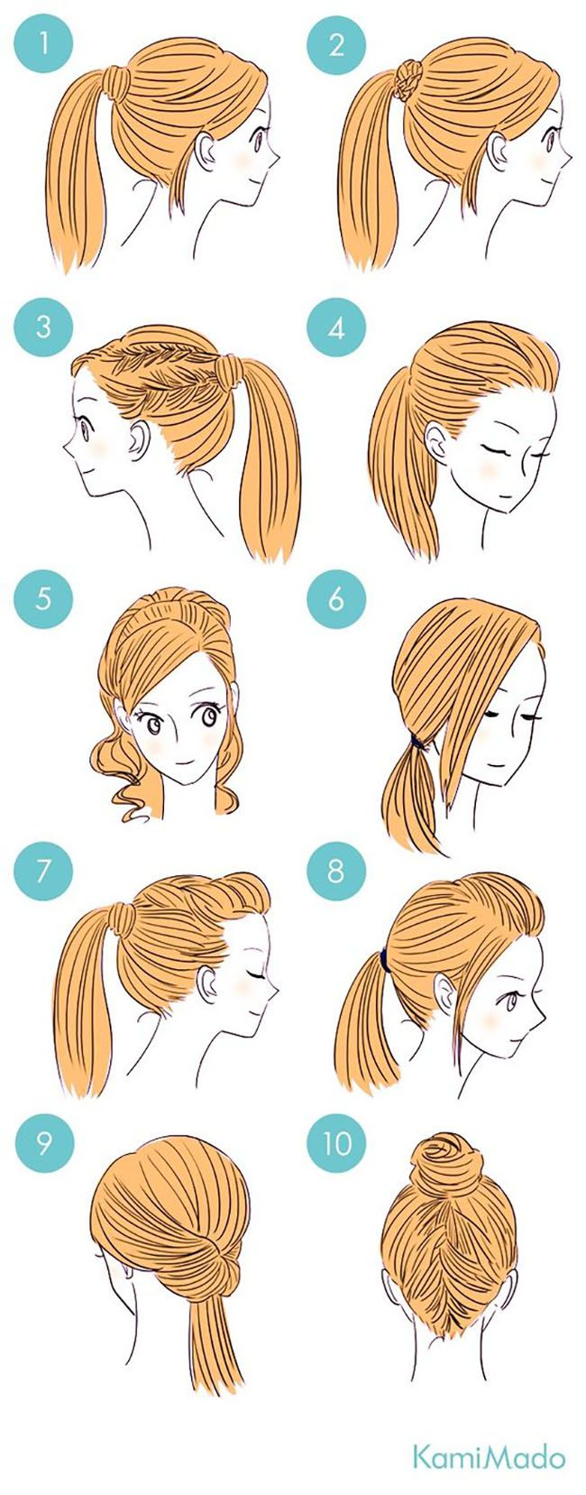 65 Easy And Cute Hairstyles That Can Be Done In Just A Few Minutes Cute Simple Hairstyles Sweet Hairstyles Long Hair Styles