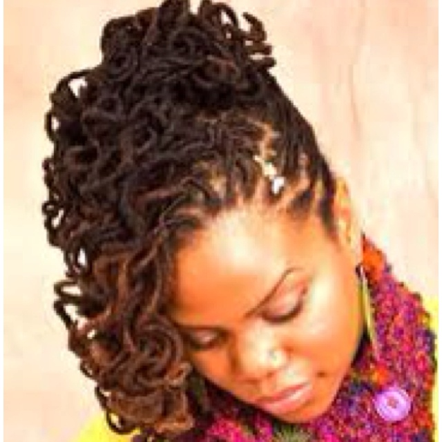 870 best locs images on pinterest natural hairstyles dreadlock loc updo by pmusecretfo Image collections