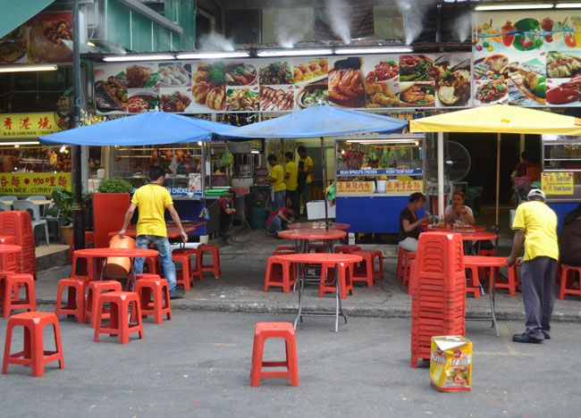Daytime Opening on Jalan Alor Food Street, Kuala Lumpur, Southeast Asia. For our boutique Kuala Lumpur City Guide incl. Malaysian Food and Kuala Lumpur Boutique Hotels check our website: http://best-of-kl.com/