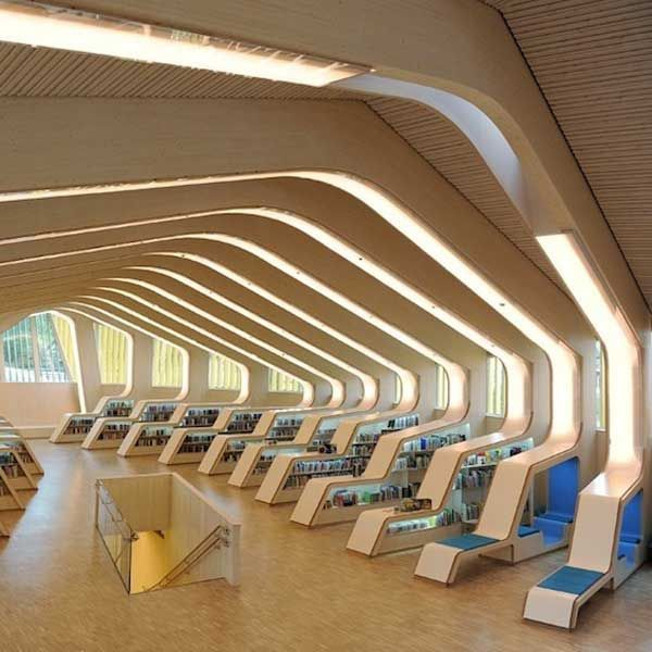 Best 25 Library Design Ideas On Pinterest Public