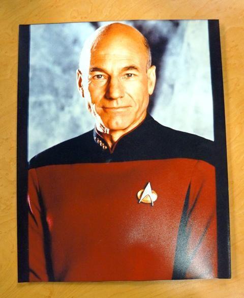 Star Trek: The Next Generation Captain Jean-Luc Picard Convention Stock Photo