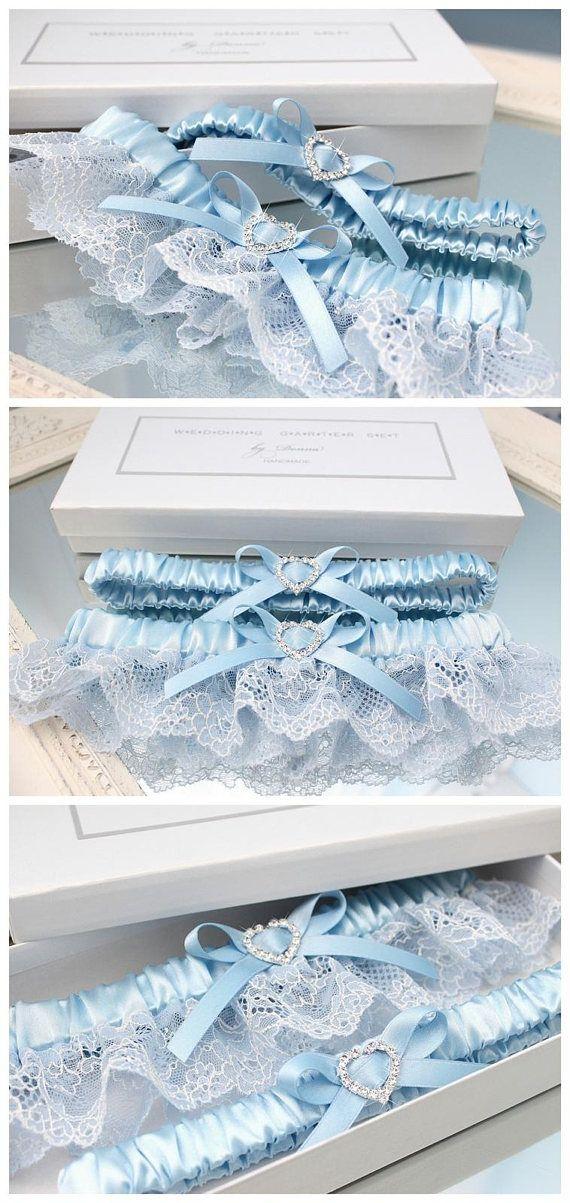 Blue Lace Garter Blue Garter Set Teal  Blue Garter Bridal Garter Wedding Garter Bridal Garter Set Wedding Garter Blue Something Blue