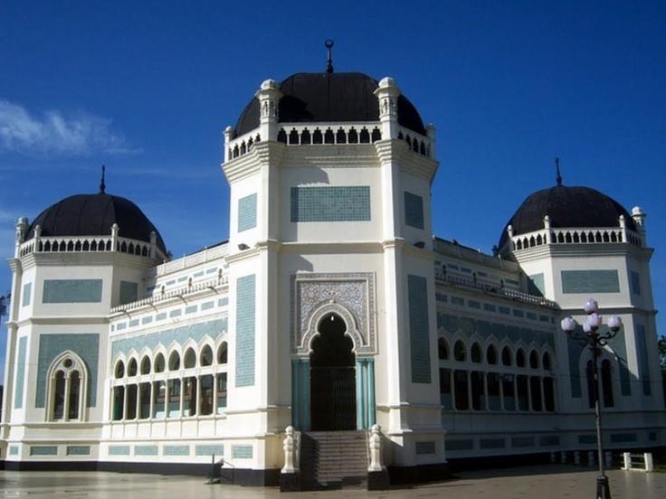 Mesjid Raya Medan, Indonesia