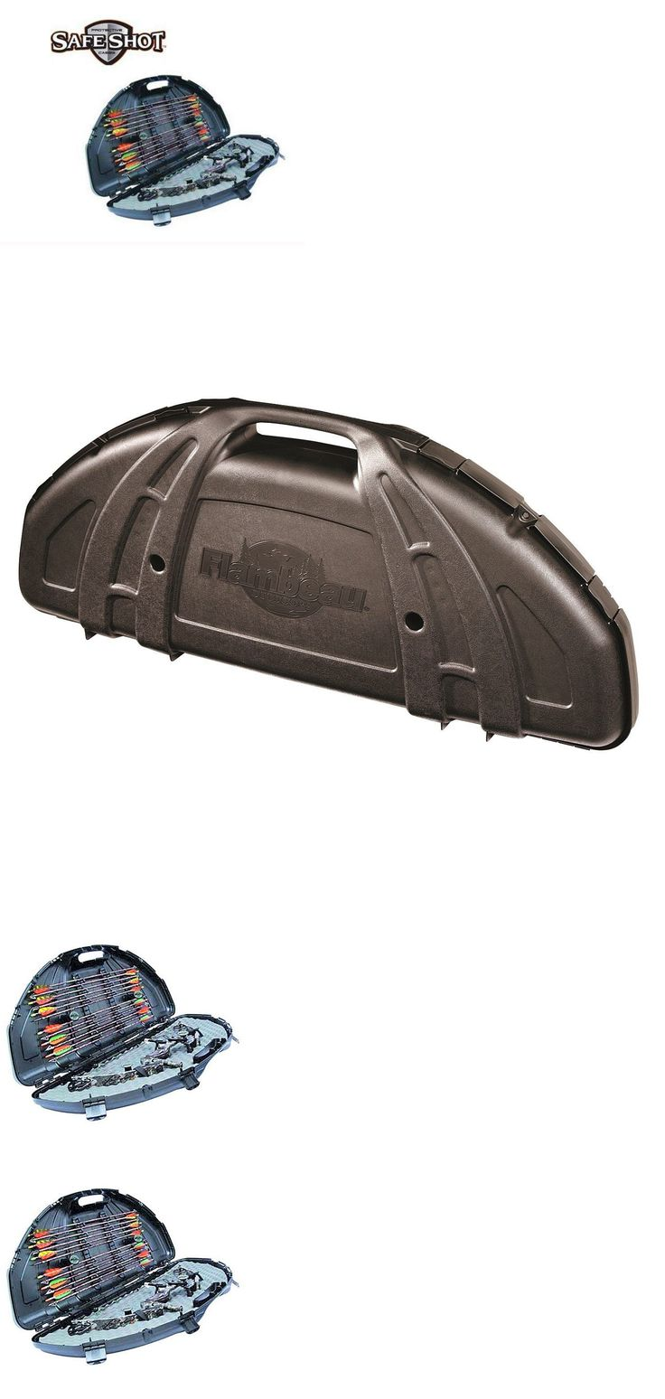 Bags Cases and Covers 181300: Flambeau Outdoors Security Safe Shot Compound Bow 6461Sc Case Storage Black New -> BUY IT NOW ONLY: $49.99 on eBay!
