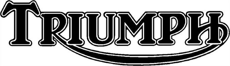 old triumph logo – idea di immagine del motociclo