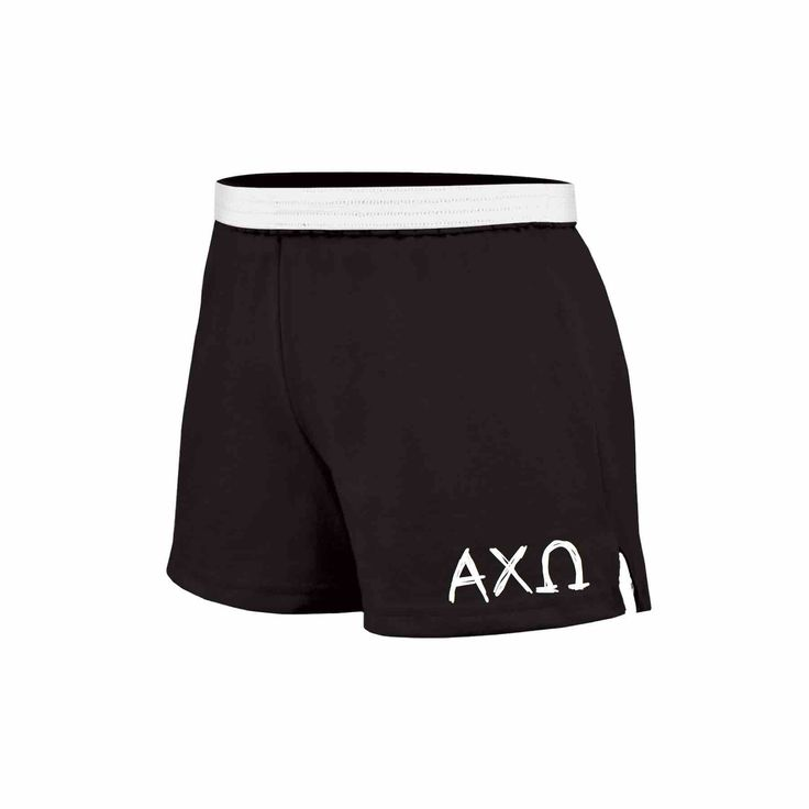 Alpha Chi Omega Shorts . Knit . Custom Colors . Greek Letters