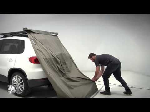 Rhino Rack 32125 Dome 1300 Awning 4 25ft Driver Passenger Rear Mount Roof Dome Polycotton Fabric Tyre Specials