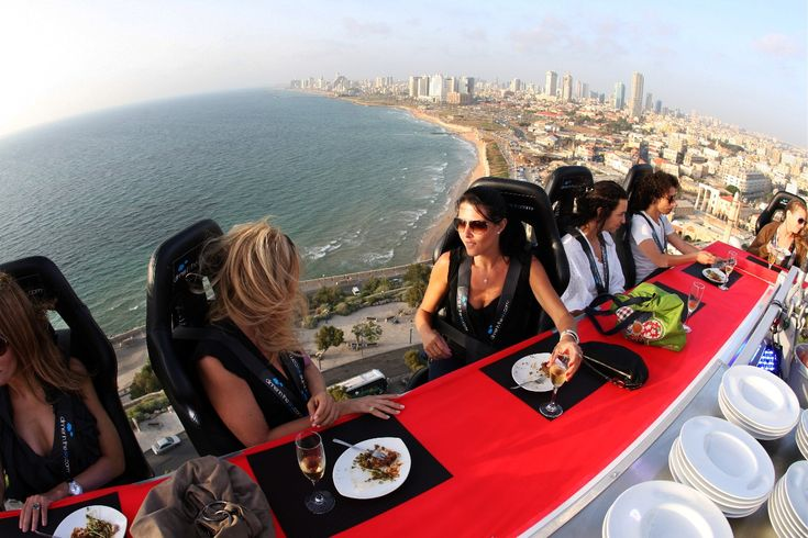Enjoy a 'Dinner in the Sky' - 10 Unusual Ideas to Add to your Bucket List