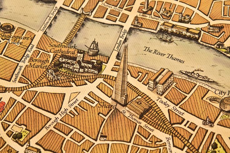 10 of the best hand-drawn maps - The Guardian This beautiful