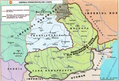 Ubirea principatelor - 24 Ianuarie, 5 Februarie 1859 - Ziua Unirii