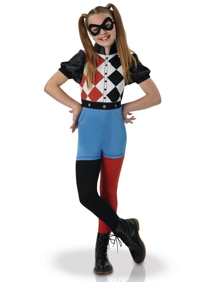 Harley Quinn™ Superhero Girls Kinderkostüm für Mädchen Lizenzartikel: Mit diesem Harley Quinn™ Superhero Girls Kinderkostüm für Mädchen Lizenzartikel für Partys wie Geburtstage, Karneval oder Halloween kann jedes Kind fantasievoll in eine andere Welt...