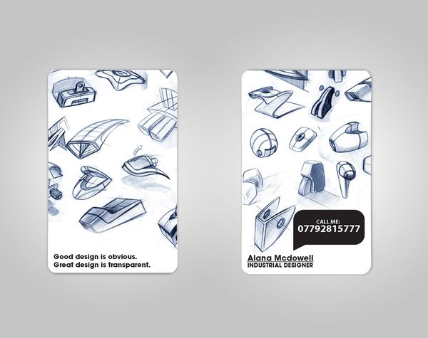 Product Design Business Card by Ricky Richards, via Behance ...