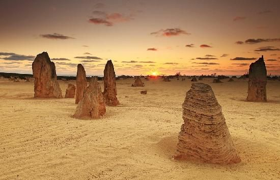 Located about 180kms north of Perth, the pinnacles are a popular tourist attraction. #celebratewa