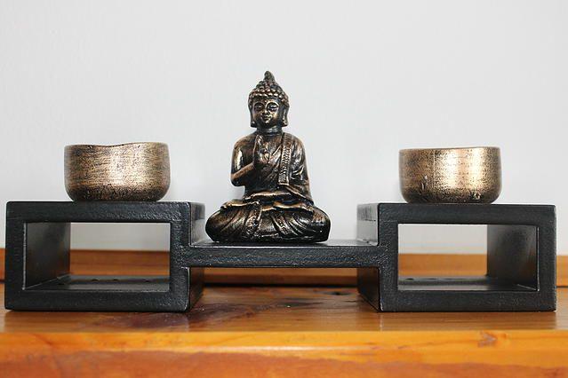 Buda altar Medidas: 24 x 8 cms de base, 13 cms de alto $ 11.900.- Para comprar comunicarse al +56 9 66986319