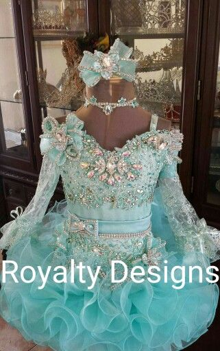 Royalty Designs custom made pageant attire. Www.royaltydesigns.net