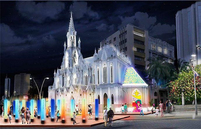 #Cali se ilumina con multicoloridas luces en esta Navidad - #OrgullodeCali  #CaliCo