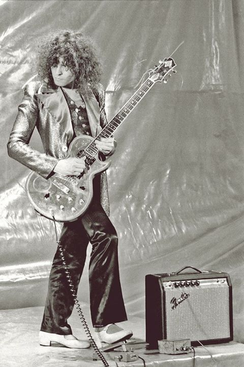 Marc Bolan - Many of the band's biggest hits were co-written with Barrett Strong, with whom he was inducted into the Songwriters Hall of Fame in 2004. The two won the Grammy in 1972 for best