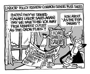Editorial cartoon by Wendy Brown