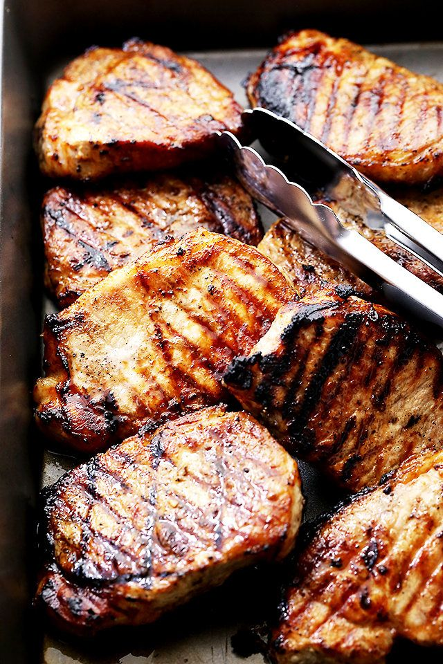 ... about Grill Pork Chops on Pinterest | Grilled Pork, Pork and Grilling