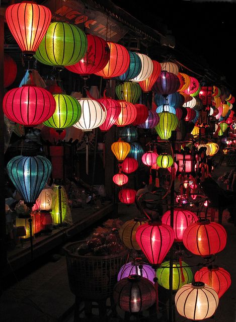 Hoi An lanterns by Michael Valigore Photography, via Flickr