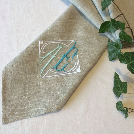 22 best monogram linen napkins images on pinterest