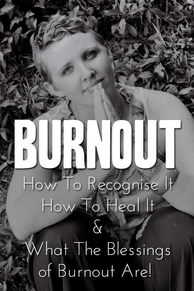 Burn Out. Recognition & recovery. (Rather unusual blogging style, but some good messages in there about self care, personal limits, rest, relaxation & not being superwomen (or man)). (Apologies there wasn't a link to the website on the last version I posted)