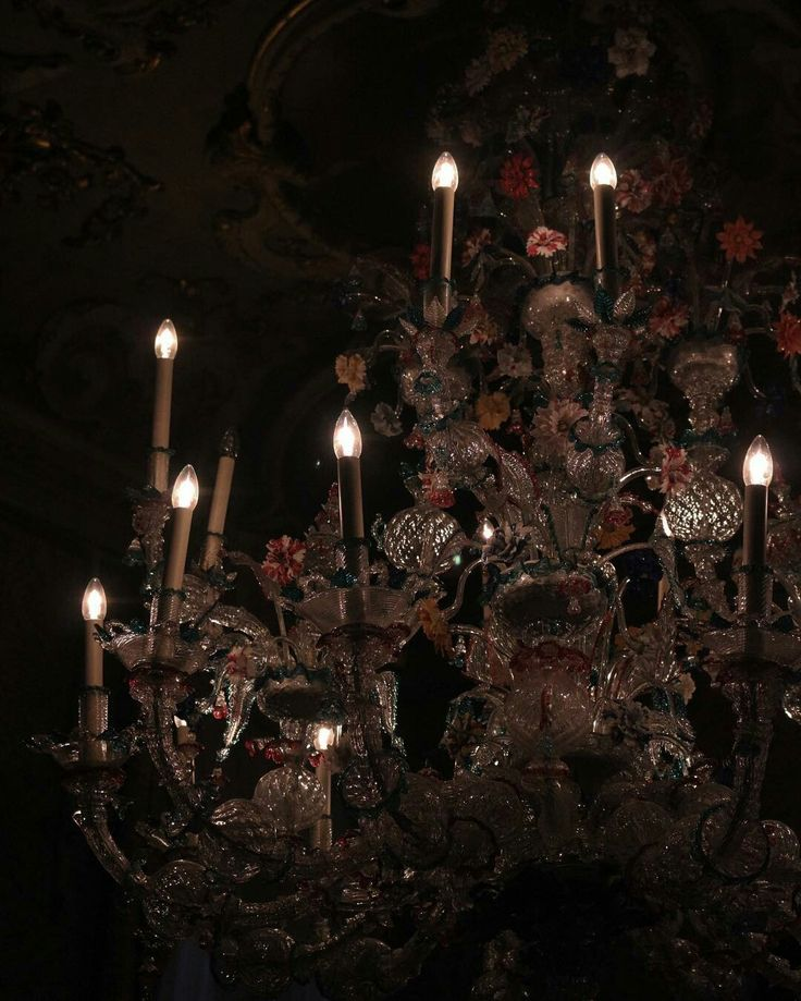 Red Aesthetic Chandelier: Pin By Then, Now On Fairy Tale
