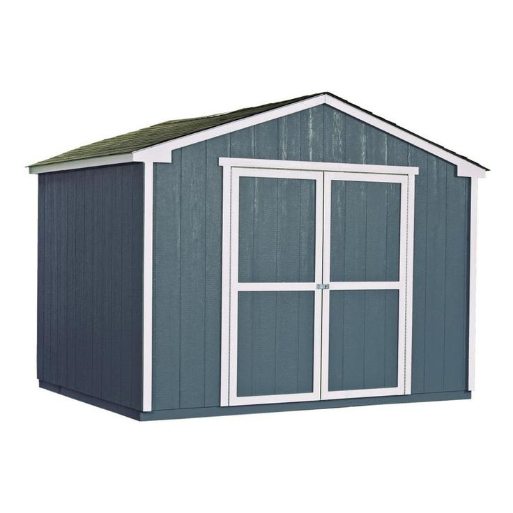 Heartland Common 8 Ft X 10 Ft Interior Dimensions 10 Ft X 7 71 Ft Liberty Gable Engineered Storage Shed Wood Storage Sheds Storage Shed Kits Shed Storage