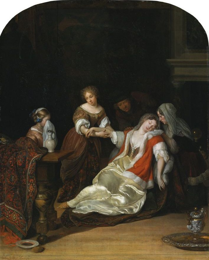Eglon van der neer de flauwte eglon van der neer art for Modern baroque art