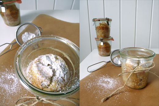 Walnuss-Bananen-Kuchen im Glas *Holunderweg 18