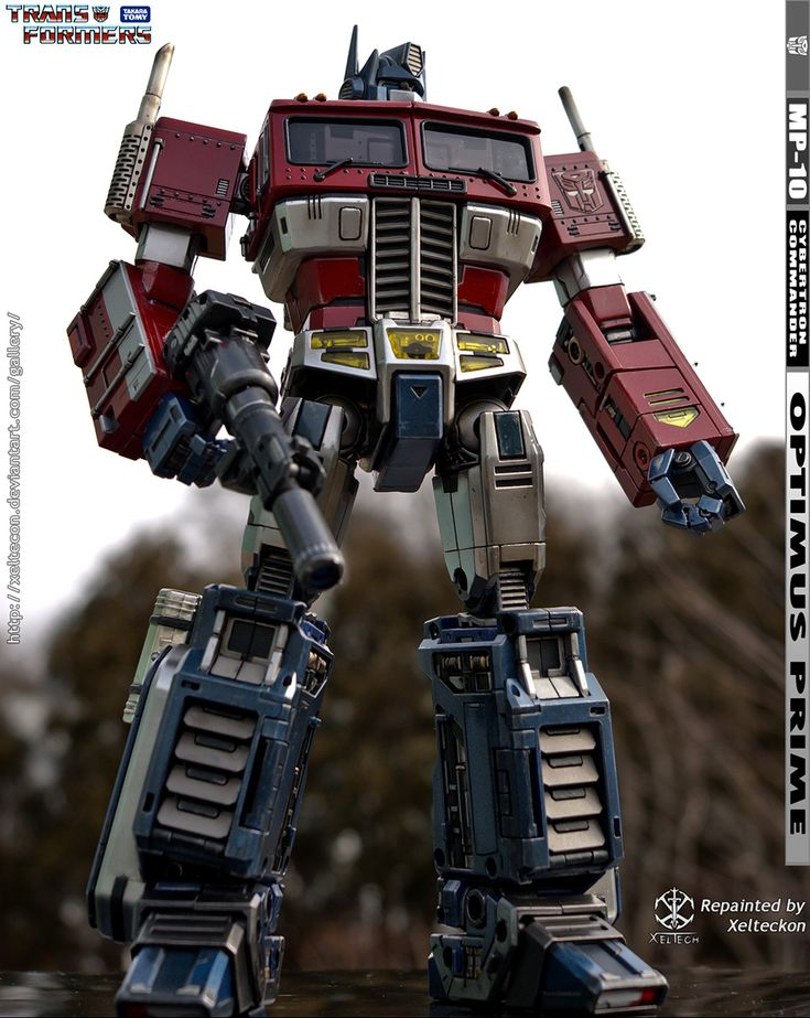 MP-10 Optimus Prime Full Repaint (PIC heavy) - TFW2005 - The 2005 Boards