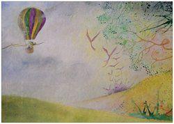 Sjekk ut A5-postkort som vi laget med Vistaprint!