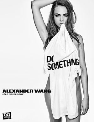 "Alexander Wang ""DOSOMETHING"" campaign (Cara Delevigne)"