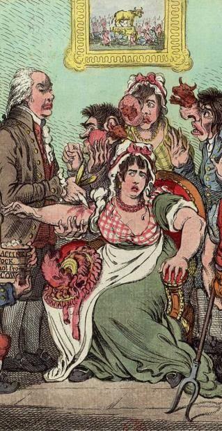 """""""Inoculation de la variole 1721 : La variole (ou petite vérole) est une maladie infectieuse d'origine virale, très contagieuse et épidémique, qui se caractérise par des pustules au visage. Aujourd'hui éradiquée, cette infection fut longtemps redoutée, car un tiers de ceux qui la contractaient en mouraient, et ceux qui y survivaient restaient généralement défigurés. Voltaire rapporte que 60 % des personnes contractaient la variole et que 20 % de la population en mourait. Pour s'en…"""