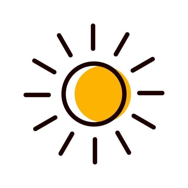 Sun Icon Design Vector And Png Icon Design Coffee Icon Sun Logo