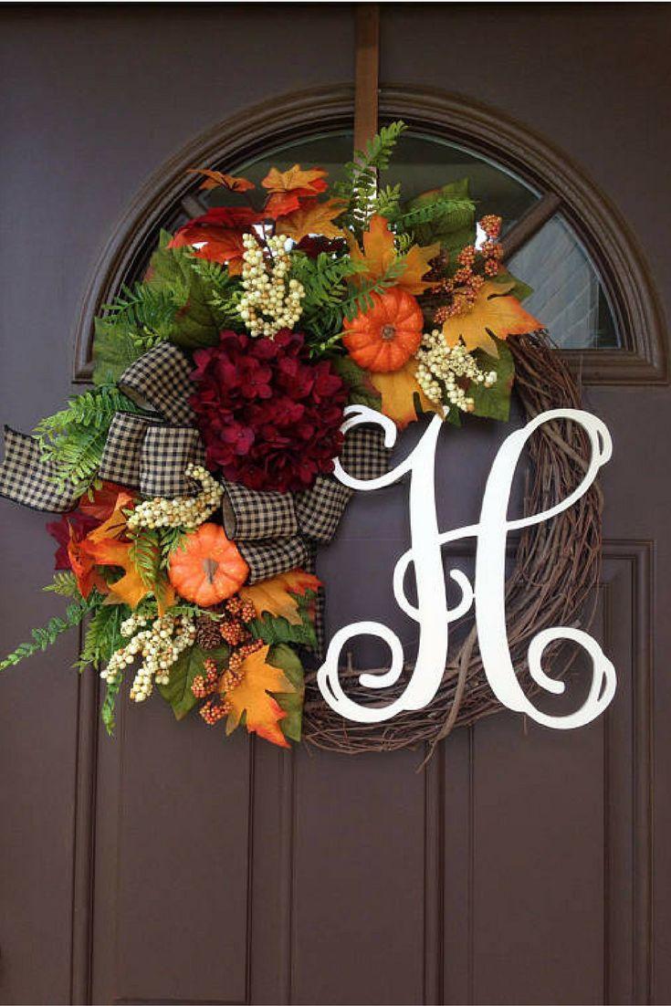 Best 25+ Front door initial ideas on Pinterest | Initial ...