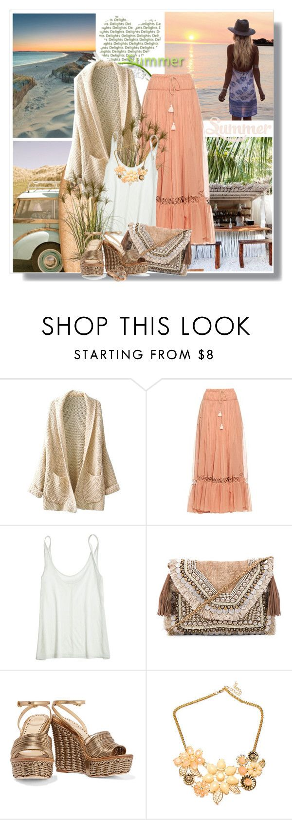 """""""Summer Closing Party"""" by cerry71 ❤ liked on Polyvore featuring Chloé, Calypso St. Barth, Shashi, Moschino and LE VIAN"""
