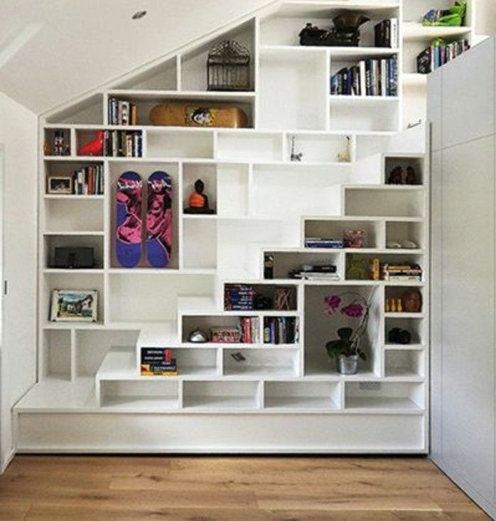 les 25 meilleures id es de la cat gorie escalier gain de place sur pinterest. Black Bedroom Furniture Sets. Home Design Ideas
