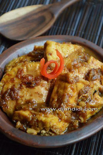 Diah Didi's Kitchen: Menu Untuk Anak..Cepat Dan Mudah..^^ Semur kental Telur Ceplok dan Tahu