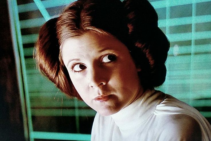 Carrie Fisher - Princess Leia - Star Wars - A New Hope ... How Old Was Princess Leia In A New Hope