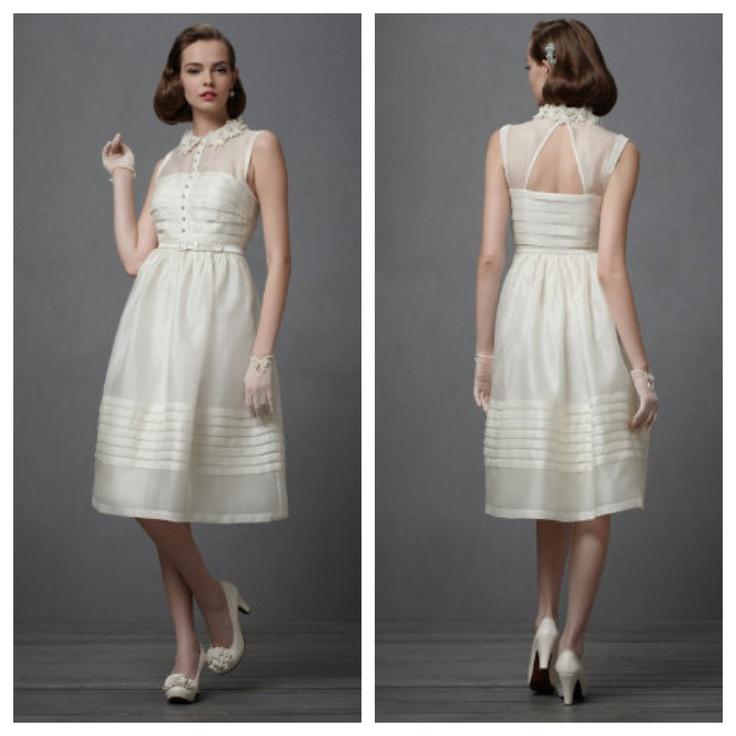 My wedding dress from BHLDN