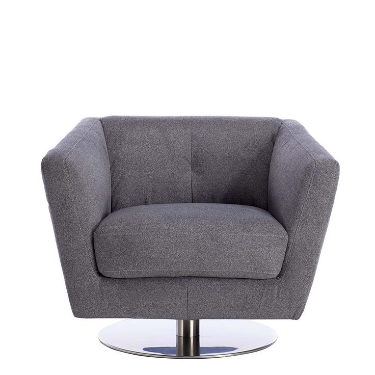 This Statement Swivel Chair Is A Stylish Addition To Contemporary Interiors. Home Design Ideas