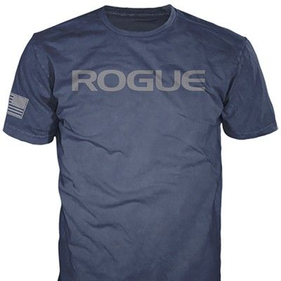 The Rogue Basic Shirt is printed on a Unisex American Apparel 50/50 blend shirt that has an athletic fit. Get yours today!